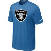 Nike Oakland Raiders Sideline Legend Authentic Logo Dri-FIT NFL T-Shirt Indigo Blue
