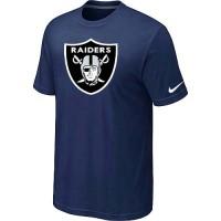 Nike Oakland Raiders Sideline Legend Authentic Logo Dri-FIT NFL T-Shirt Midnight Blue