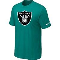 Nike Oakland Raiders Sideline Legend Authentic Logo Dri-FIT NFL T-Shirt Teal Green