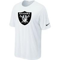 Nike Oakland Raiders Sideline Legend Authentic Logo Dri-FIT NFL T-Shirt White