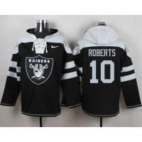 Nike Raiders #10 Seth Roberts Black Player Pullover NFL Hoodie