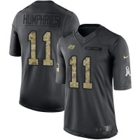 Nike Tampa Bay Buccaneers #11 Adam Humphries Anthracite Men's Stitched NFL Limited 2016 Salute to Service Jersey