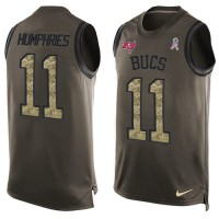 Nike Tampa Bay Buccaneers #11 Adam Humphries Green Men's Stitched NFL Limited Salute To Service Tank Top Jersey