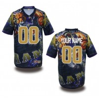 Los Angeles Rams NFL Customized Fanatic Version Jersey