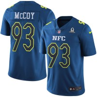Youth Nike Tampa Bay Buccaneers #93 Gerald McCoy Navy Stitched NFL Limited NFC 2017 Pro Bowl Jersey